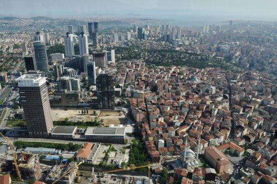 M.Vadišio nuotr./Stambulas iš aukščiausio miesto dangoraižio
