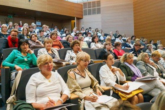 """""""Swedbank"""" nuotr./Ekonomikos mokytojai AFI konferencijoje"""
