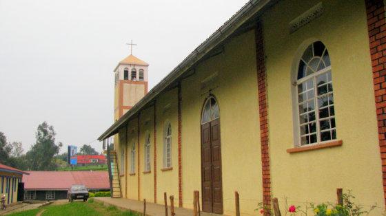 A.Podgornajos nuotr./Bažnyčia iš išorės