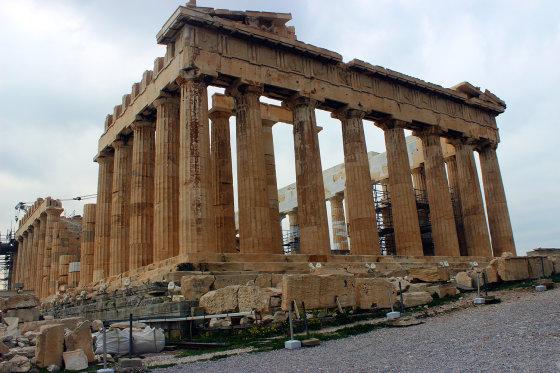 M.Bertulio nuotr./Didingasis Partenonas