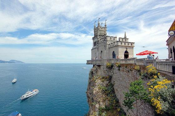 Wikimedia.org nuotr./Kregždutės Lizdas Kryme – vienas išraiškingiausių pusiasalio simbolių