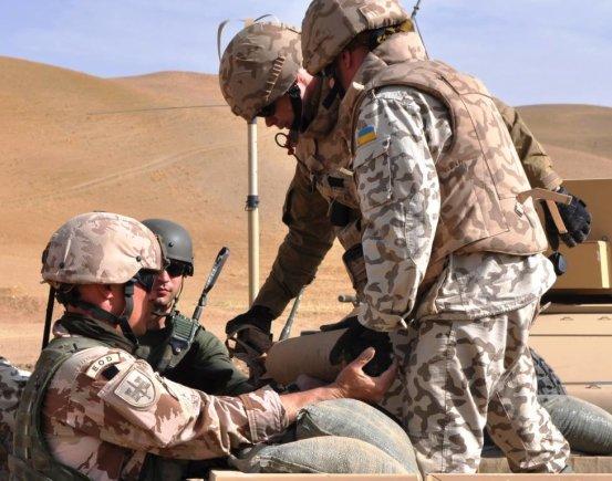 KAM nuotr./Sprogmenis Afganistane neutralizuoja Lietuvos ir Ukrainos kariai