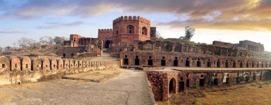123rf.com nuotr./Fatehpur Sikris apleisti rūmai