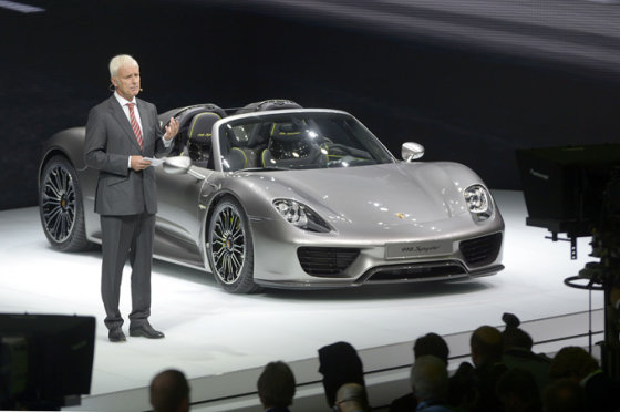 """Scanpix"" nuotr./""Porsche 918 Spyder"""