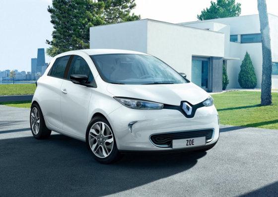 """""""Renault """" nuotr./""""Renault ZOE"""""""