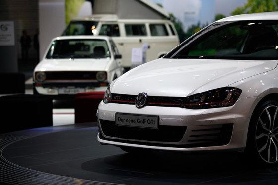 """Lino Bučinsko nuotr./""""Volkswagen Golf GTI"""""""