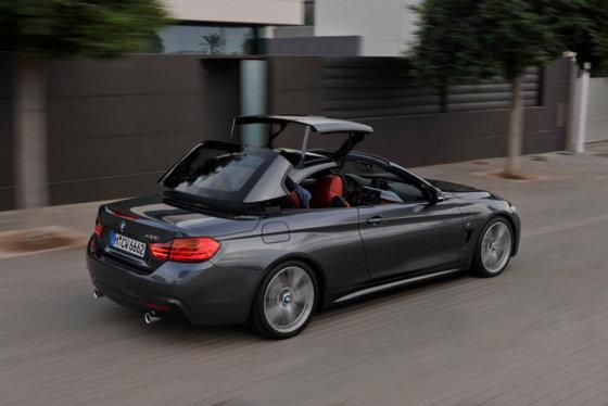 BMW nuotr./4 serijos BMW kabrioletas