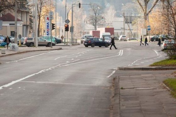 Vilniaus savivaldybės nuotr./Sutvarkytos Vilniaus gatvės