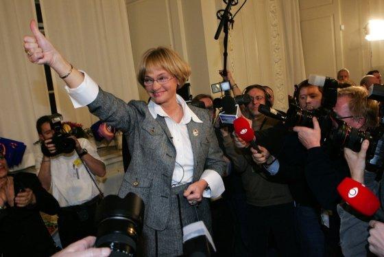 """Scanpix"" nuotr./Danijos liaudies partijos lyderė Pia Kjaersgaard"