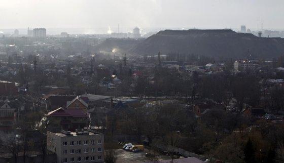 """""""Reuters""""/""""Scanpix"""" nuotr./Donetskas – Ukrainos pramonės širdis"""