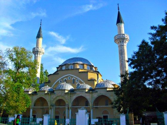 Wikimedia nuotr./Džuma-Džami mečetė, Krymo totorių maldos namai