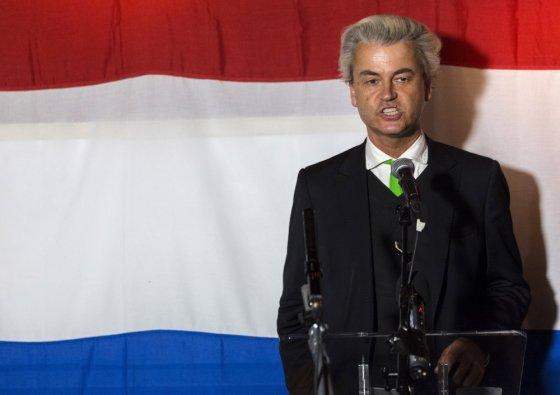 """""""Scanpix"""" nuotr./Nyderlandų Laisvės partijos lyderis Geertas Wildersas"""