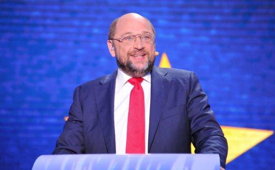 """""""Scanpix"""" nuotr./Socialistų kandidatas, Europos Parlamento pirmininkas Martinas Schulzas"""