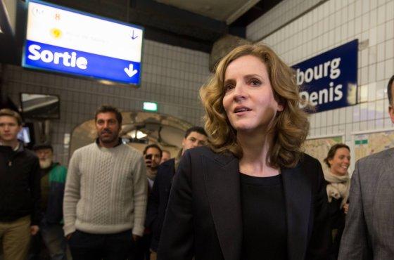 """""""Scanpix"""" nuotr./UMP kandidatė į Paryžiaus merus Nathalie Kosciuscko-Morizet"""