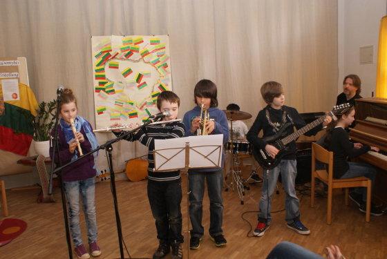 Hiutenfeldo gimnazijos mokinių orkestrėlis