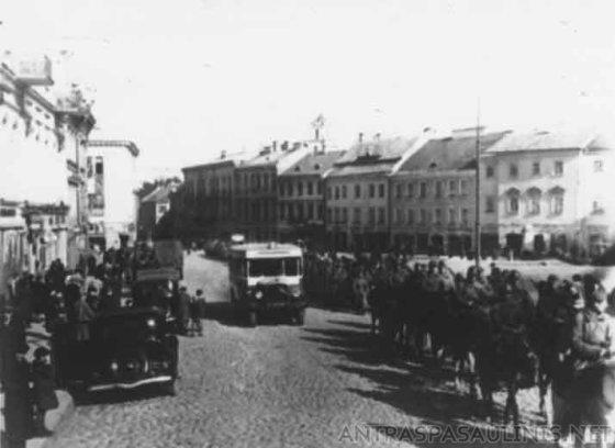 Raudonoji armija okupuoja Vilnių 1939 m. rugsėjį