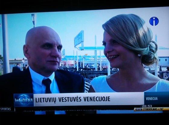 Info TV inf./Gedvydas Vainauskas ir Liuminata Mickutė 2