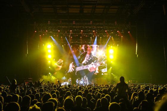 """Luko Balandžio/Žmonės.lt nuotr./""""Aerosmith"""" koncerto akimirka"""
