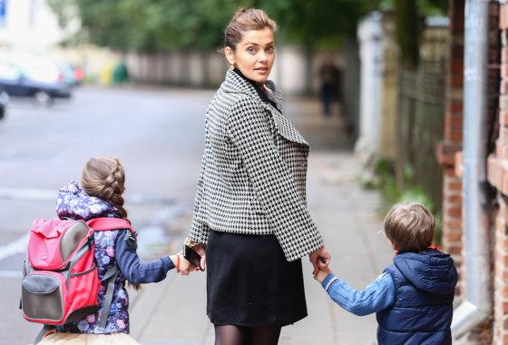 Luko Balandžio/Žmonės.lt nuotr./Eglė Skrolytė su vaikais