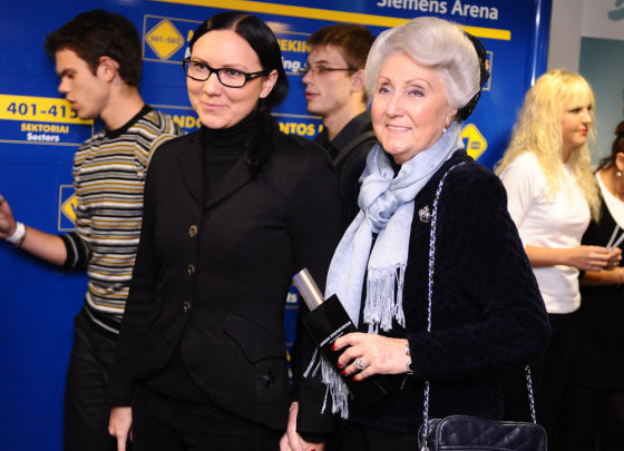 Luko Balandžio nuotr./Greta Cholina su mama Laima Cholina