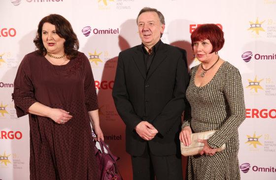 Luko Balandžio/Žmonės.lt nuotr./Larisa Kalpokaitė (kairėje) ir Jonas Braškys
