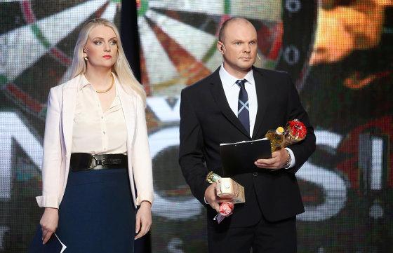 Luko Balandžio/Žmonės.lt nuotr./Rūta Ščiogolevaitė-Damijonaitienė ir Kristupas Krivickas