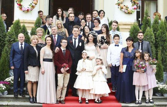 Luko Balandžio/Žmonės.lt nuotr./Viktorijos Jakučinskaitės ir Vitalijaus Jančenkovo vestuvių akimirka