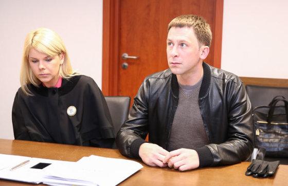 Egidijus Dragūnas ir advokatė Giedrė Subačiūtė