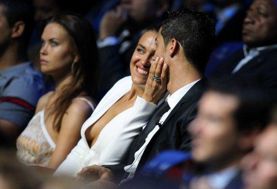 """Scanpix"" nuotr./Irina Shayk ir Cristiano Ronaldo"