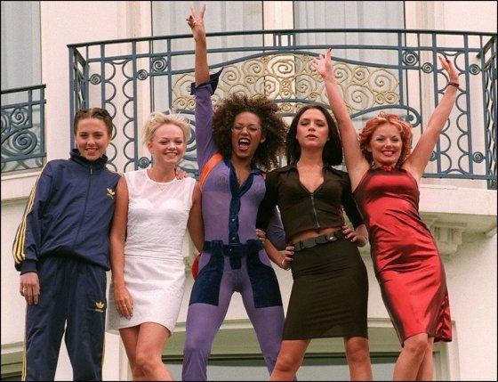 """Scanpix"" nuotr./""Spice Girls"" (1997 m.)"
