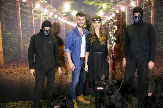 Viganto Ovadnevo/Žmonės.lt nuotr./Mindaugas Rainys ir Milana Jašinskytė