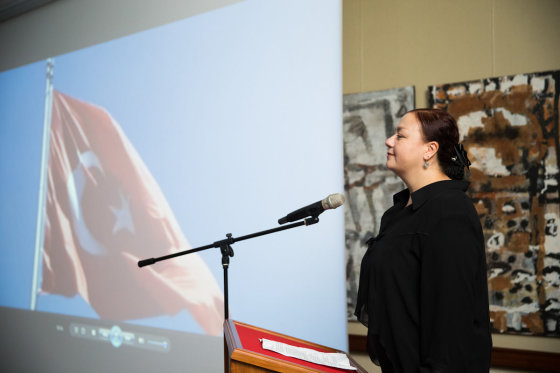 Viganto Ovadnevo/Žmonės.lt nuotr./Turkijos ambasadorė Aydan Yamancan