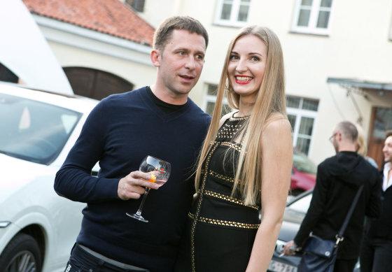 Gretos Skaraitienės/Žmonės.lt nuotr./Egidijus Dragūnas ir Eleonora Sebrova