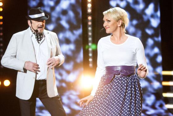Gretos Skaraitienės/Žmonės.lt nuotr./Inga Norkutė-Žvinienė ir Adolfas Jarulis