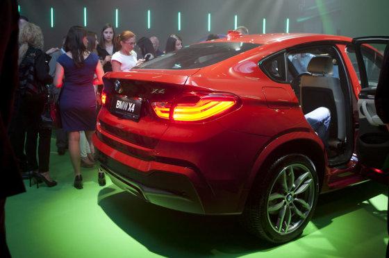 Mariaus Žičiaus/Žmonės.lt nuotr. /BMW X4 pristatymas Vilniuje
