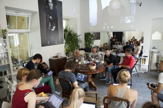 """Mariaus Žičiaus/Žmonės.lt nuotr. /Festivalio """"Roko naktys"""" spaudos konferencija"""