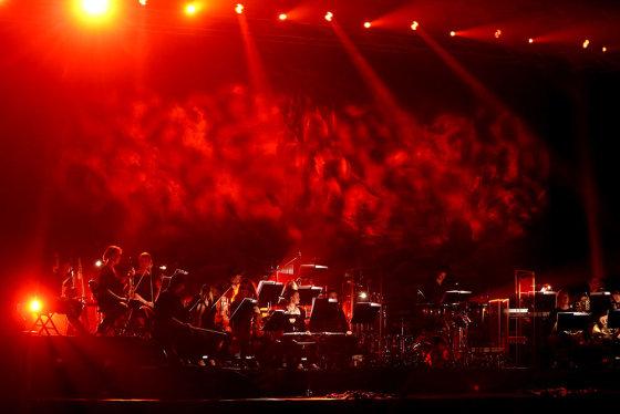 """Teodoro Biliūno/Žmonės.lt nuotr./""""Apocalyptica"""" ir """"Avanti! Orchestra"""" koncertas"""