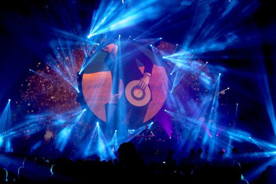 """Teodoro Biliūno/Žmonės.lt nuotr./""""Brit Floyd"""" koncertas Kaune"""