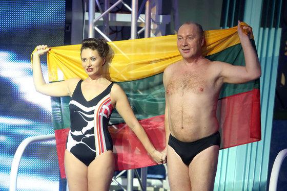 Teodoro Biliūno/Žmonės.lt nuotr./Jurijus Smoriginas ir jo dukra Agnė