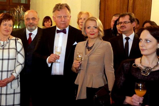 Teodoro Biliūno/Žmonės.lt nuotr./Vytautas ir Eglė Mikailos