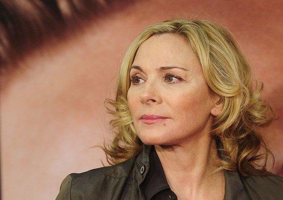 """Scanpix"" nuotr./Aktorė Kim Cattrall Tribekos kino festivalyje Niujorke."