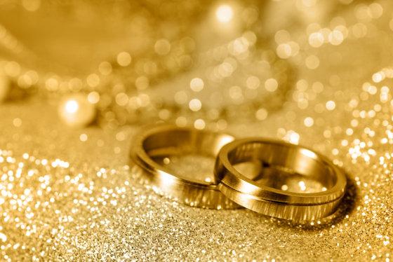 Shutterstock nuotr./Auksiniai žiedai