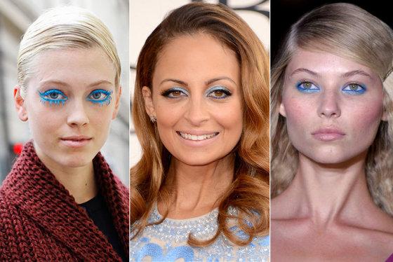 Scanpix, moschino cheapchicobsession.com ir all-theprettybirds.com nuotr./Mėlyno akių makiažas