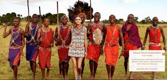 oliviapalermo.com nuotr. /Olivia Palermo – masajų genties projekto ambasadorė.