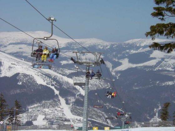 Špindlerūv Mlyno slidinėjimo kurortas Čekijoje