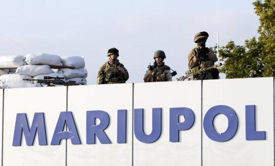 """""""Reuters""""/""""Scanpix"""" nuotr./Mariupolis"""