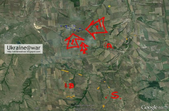 "ukraineatwar.blogspot.co.uk iliustr./""Google Earth"" nuotr."