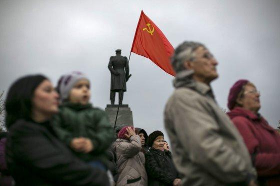 """Reuters""/""Scanpix"" nuotr./Prorusiškas protestas"