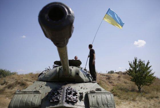 "AFP/""Scanpix"" nuotr./Ukrainos kariai artėja Donecko link"