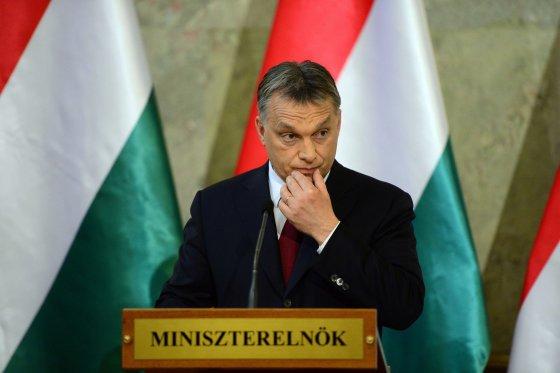 """AFP/""""Scanpix"""" nuotr./Vengrijos premjeras Viktoras Orbanas"""